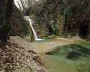 Город водопады на реке дедеркой