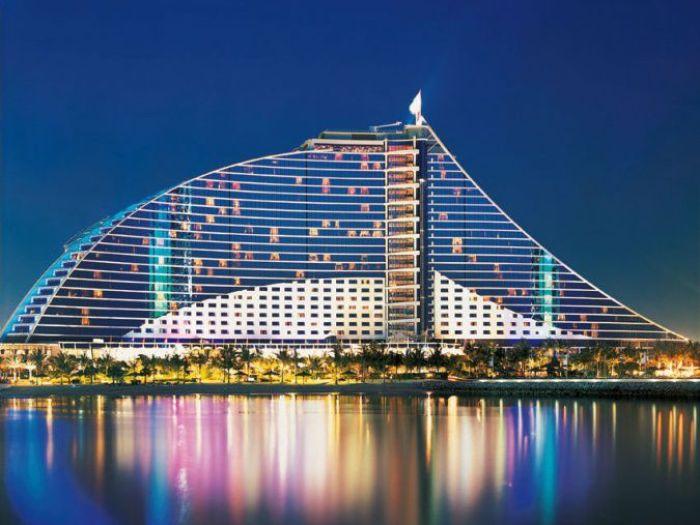 Jumeirah Beach Hotel Дубаи ОАЭ Чартерные рейсы