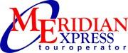 Логотип компании МЕРИДИАН-ЭКСПРЕСС