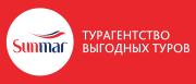 Логотип компании Турагентство «SUNMAR» / Третьяковская