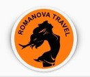 Логотип компании Турагентство «Romanova Travel» / Владимир