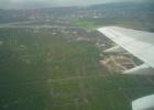 Фото туриста. вид на Бали с самолета