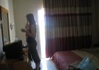 Фото туриста. в номере