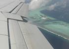 Фото туриста. Под крылом самолета....