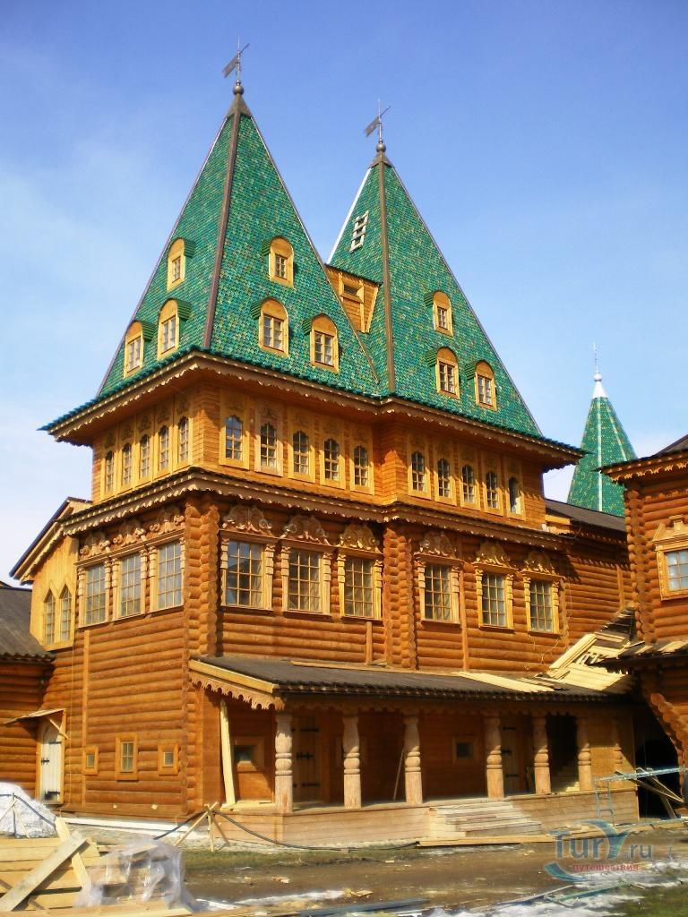 деревянный дворец царя гвидона фото быть, из-за