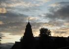 Фото туриста. Вечернее небо над отелем