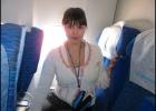 Фото туриста. В самолете