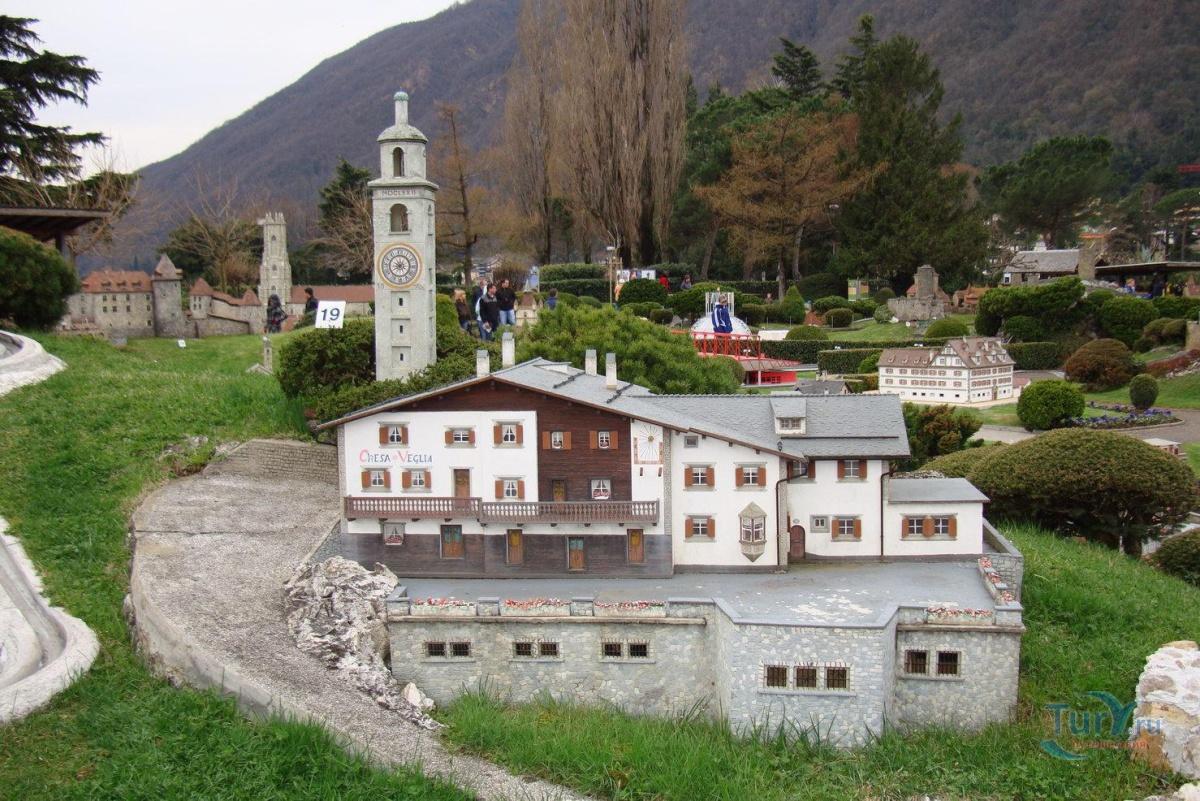 Швейцария городок мелиде фотографии города