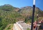 Фото туриста. панорама от бассейна возле отеля Olimpo