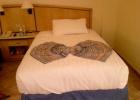 Фото туриста. Кровать в номере - огромная!