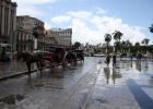 Фото туриста. Гавана. Площадь у Капитолия