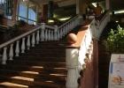 Фото туриста. Лестница в отеле
