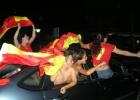 Фото туриста. победа Испаниии