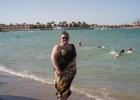Фото туриста. Я на пляже отеля