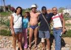 Фото туриста. Команда аниматоров Radisson SAS: Абрам, Марина, Франческа...
