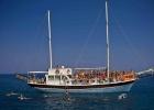 Фото туриста. морские погулки на яхте