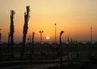 Фото туриста. рассвет над Красным морем