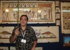 Фото туриста. музей папирусов в Каире
