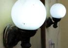 Фото туриста. полный фотоотчет по ссылке в коменте а ето светильники и плесень рядом с зеркалом как в рекламе толь
