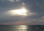 Фото туриста. Закат на пляже