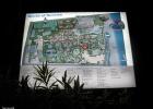 Фото туриста. Карта отеля, красный отпечаток - наш домик.