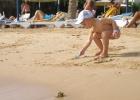 Фото туриста. песок у нового Сигала