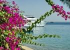 Фото туриста. корабли постоят и ложатся на курс
