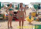 Фото туриста. пляж песочный