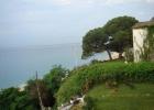 Фото туриста. вид на море с балкона номера