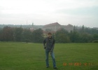 Фото туриста. парк за отелем, он же вид из окна