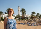Фото туриста. Обзорный маяк о. Мелия Синай.