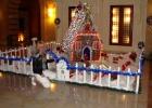 Фото туриста. Рождественское украшение отеля