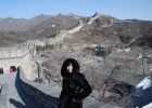 Фото туриста. Великая китайская стена