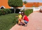 Фото туриста. Гранд Азур.я с дочкой.март 2008г.