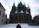 Фото туриста. Готический собор св. Вита