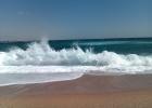 Фото туриста. вход в море у отеля Тиран. с утра дул сильный ветер всегда