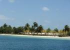 Фото туриста. о. Кайо-Ларго, подплываем к пляжу с белым песком