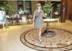 Фото туриста. в холле