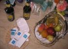 Фото туриста. Пиво и корзина с фруктами - для почетных гостей по программе привелегий Azur