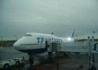 Фото туриста. Наш самолёт готовится к полёту