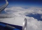 Фото туриста. Под крылом самолета