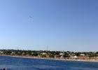 Фото туриста. Вид на центральный пляж с моря