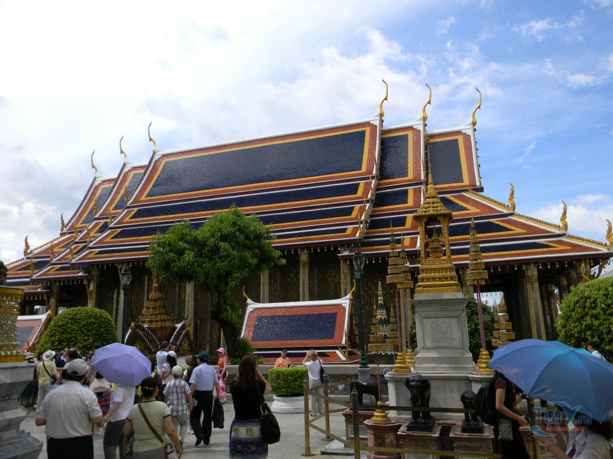бангкок фото туристов сторону поля