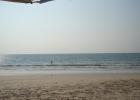 Фото туриста. пляж на янг бич-супер
