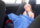 Фото туриста. Дневной сон по дороге в Ларнаку