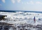 Фото туриста. В первые дни море бушевало.