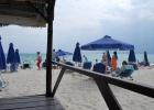 Фото туриста. Пляж около отеля, в первый день погода не радовала(((