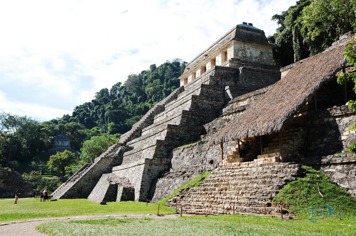 Фото «Паленке. Храм надписей» из фотогалереи «Без названия» Мексика , Мексика (экскурс.)