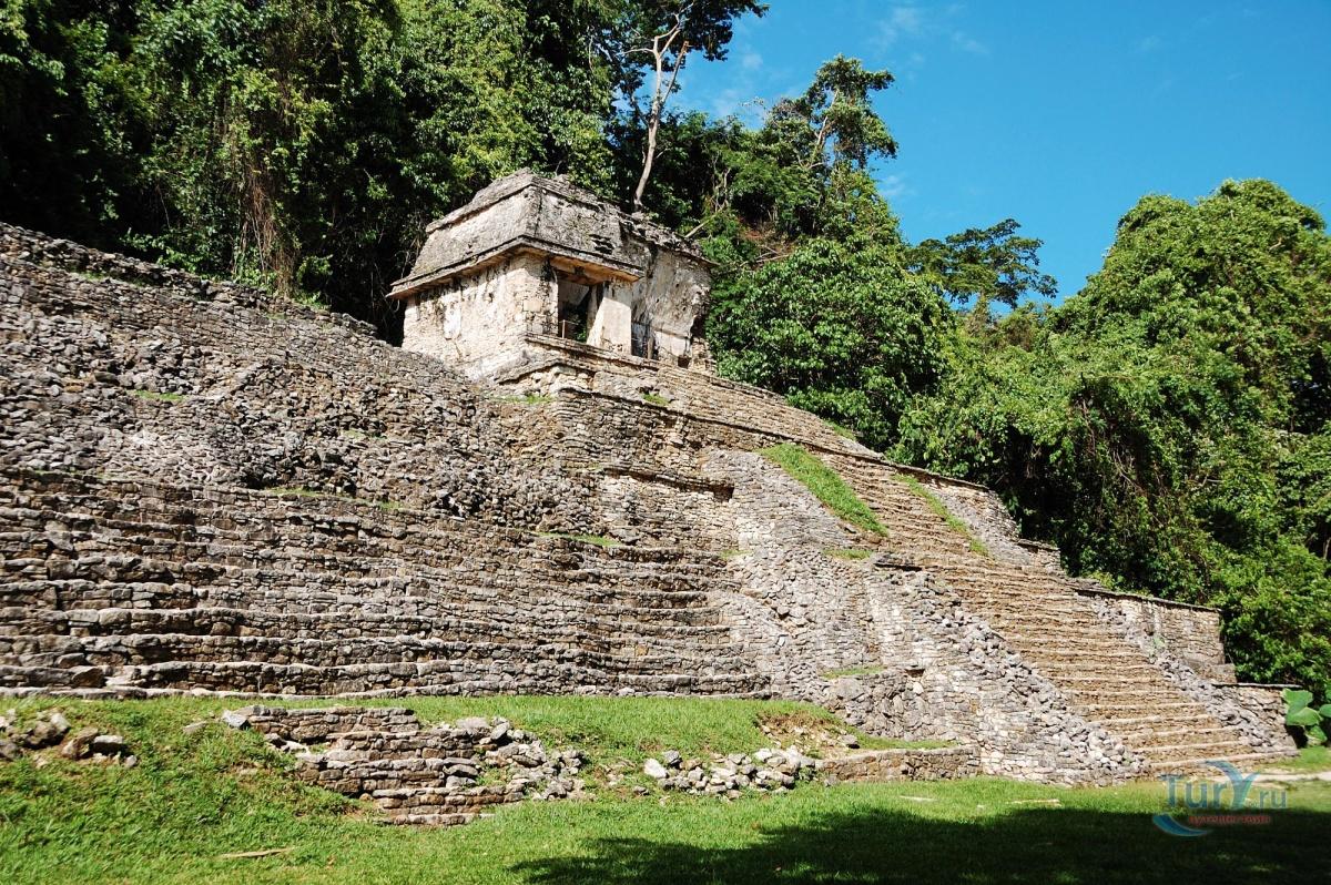 Фото «Паленке» из фотогалереи «Без названия» Мексика , Мексика (экскурс.)