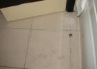 Фото туриста. вот такой чистый пол в ванной